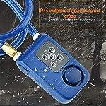 CFPacrobaticS-Antifurto-Impermeabile-Bluetooth-Smart-Password-Blocco-Bike-Allarme-Lucchetto-Porta-Sicurezza-Sicurezza-Domestica-Armadietto-per-Bagagli-Armadietto