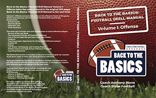 Back to the Basics: Football Drill Manual Volume 1: Offense