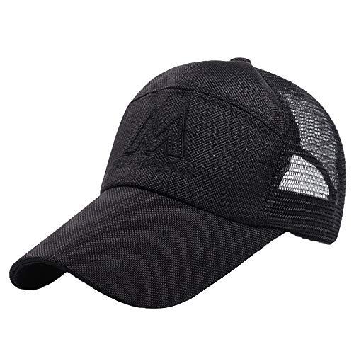 Outhun メッシュキャップ 日よけ 野球帽 通気性抜群 スポーツ帽子 アウトドア おしゃれ  男女兼用