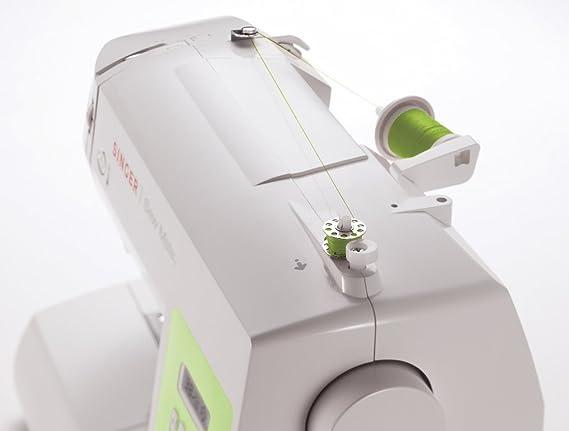 Amazon.com: Maquina De Coser 60 Puntadas 4 Botones 40 Decoracion 13 Pocisiones Agujas