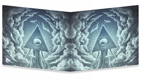 Dynomighty Mighty Tyvek Wallet, WAR OF THE WORLDS 1 by Lukas Brezak, Water Proof