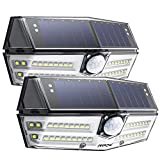 Mpow Premium 40 LED Solar Lights, Outdoor Motion Sensor Lights with High-efficient Solar Panel, 270° Super Wide Illumination Angle, Easy to Install, For Front Door, Yard, Garage, Fence, Pack of 2