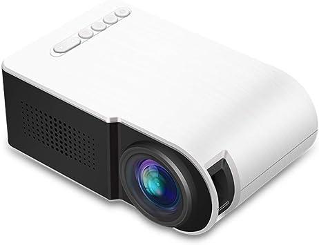 Mini Proyector, Proyector Portable 320 * 240 Proyector LED 80 ...