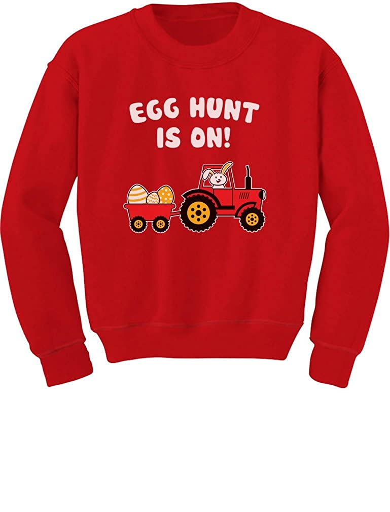 TeeStars - Easter Egg Hunt Gift for Tractor Loving Kids Toddler/Kids Sweatshirts GtPt00Pgf5