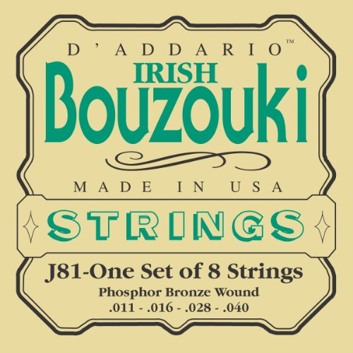 - D'Addario J81 Irish Bouzouki Strings