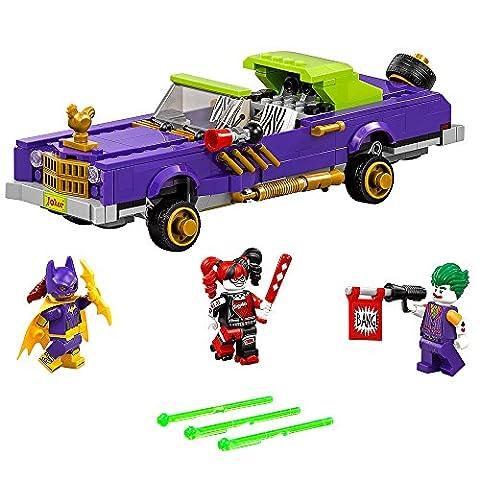THE LEGO BATMAN MOVIE The Joker Notorious Lowrider 70906 Batman Toy (Legos Movie For Boys)