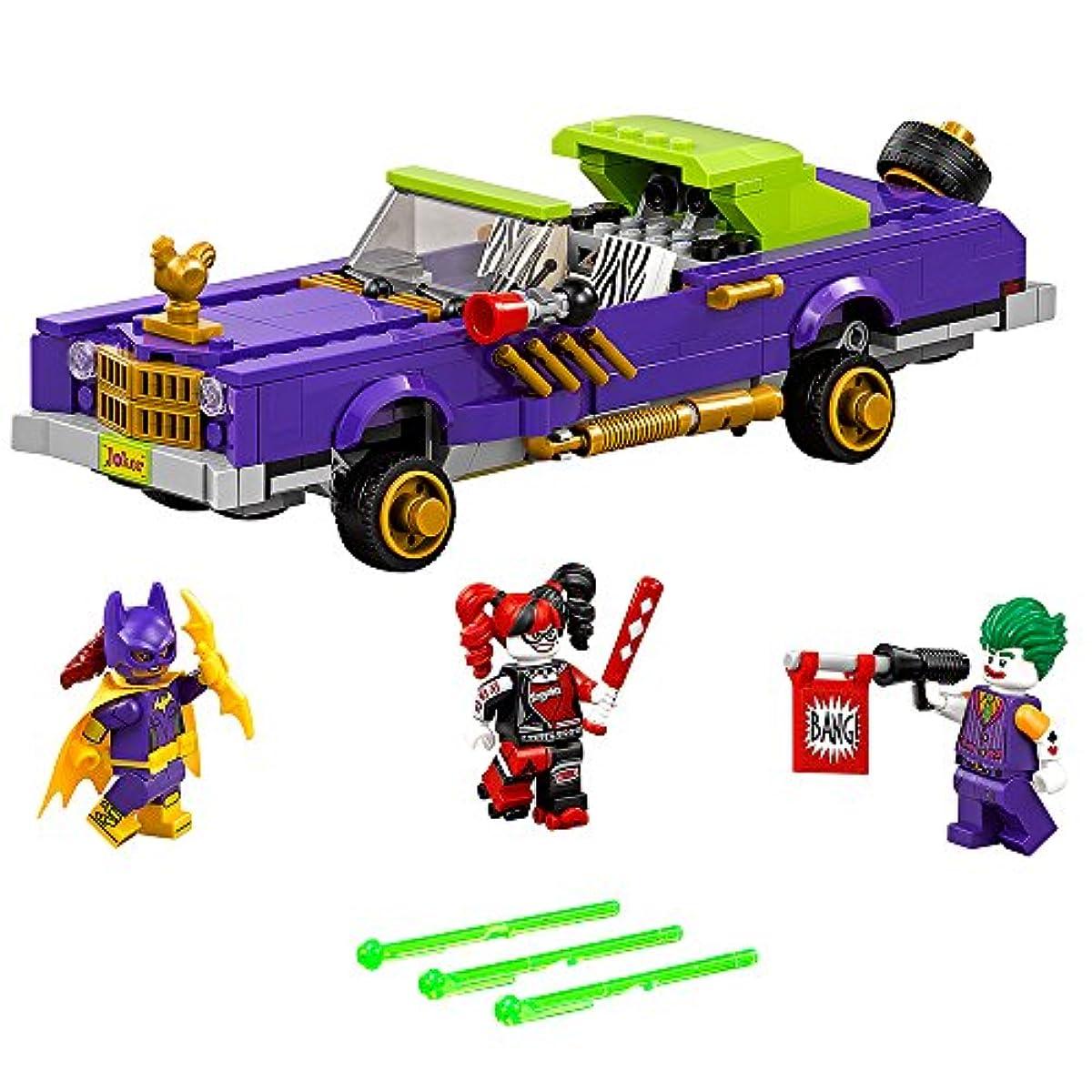 [해외] LEGO BATMAN MOVIE THE JOKER NOTORIOUS LOWRIDER 70906 BUILDING KIT (433 PIECE)