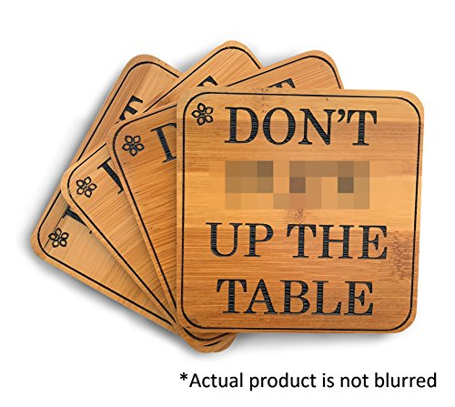 Vinaka-Kitchen Fun Coaster Set - Don't F**k Up The Table