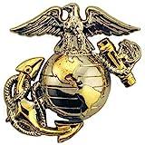 EagleEmblems United States Marine Corps Gold Tone
