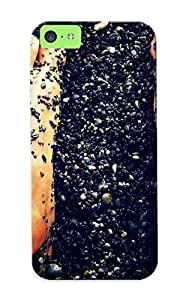 LJF phone case Mooseynmv LxvKZVF2201qaxgB Case For Iphone 5c With Nice Feet Stones Steps Mat Appearance