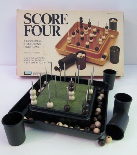 Score Four: A Fascinating 3 Dimensional Family Game
