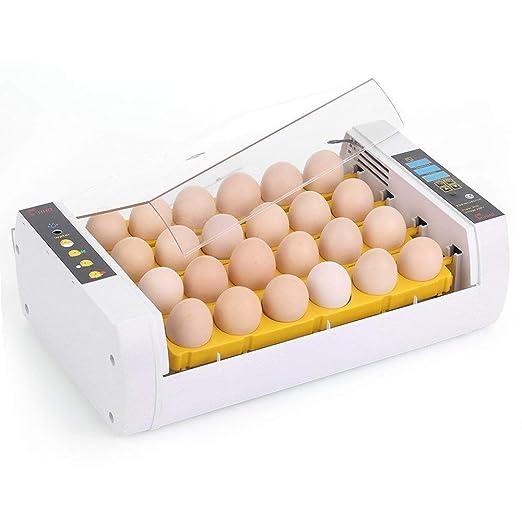 Yosoo Incubator Hatcher-24 Digital Clear Egg Turning Incubator Hatcher Automatic Temperature Control Energy-Saving Egg Incubator