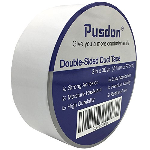 Pusdon Double Carpet Removable 2 Inch