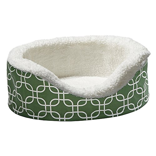 Orthoperdic Egg-Crate Nesting Pet Bed w/ Teflon Fabric Protector, XS -