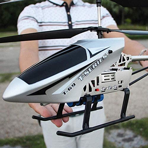 CGIIGI Super Large Radio RC Device 3.5 Channel 2.4GHZ Gyro RC Helicopter LED Indoor Outdoor Helicopter Stable Boy Toy Airplane Suitable for Children Over 6 Years Old