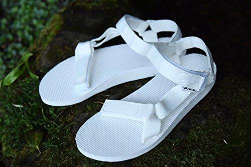 学ぶスタウト錆びTEVA テバM ORIGINAL UNIVERSAL メンズオリジナルユニバーサル BRIGHT WHITE(ブライトホワイト) メンズ サンダル 本革 靴 白 アウトドア スポサン