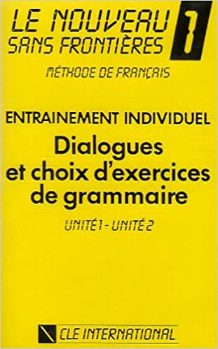 Lire Le Nouveau Sans Frontières 1 : Unités 1 et 2 (cassette audio) epub, pdf