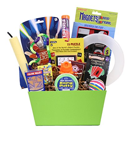 Outta This World Toys and Activities - Birthday or Special Occasion Gift Basket for Boys