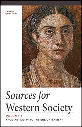 Amazon sources for western society from antiquity to the sources for western society from antiquity to the enlightenment vol 1 3rd edition fandeluxe Choice Image