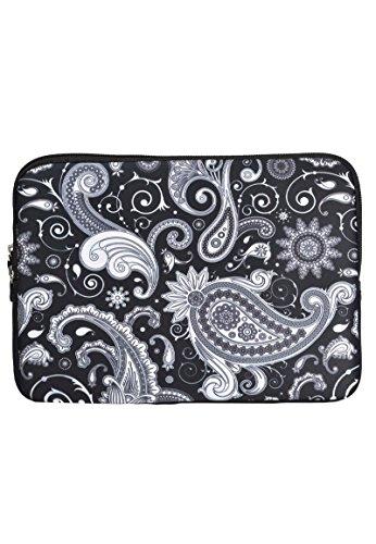 Laptophülle mit Paisley Motiv Paisley Motiv 11,6 zoll / Laptoptasche/ Notebooktasche/ Laptophülle/ Laptop Schutzhülle/ Notebook Tasche/ Laptop Sleeve