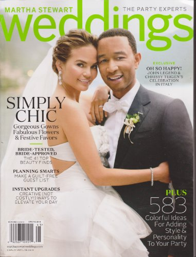 Martha Stewart Weddings Magazine Spring 2014
