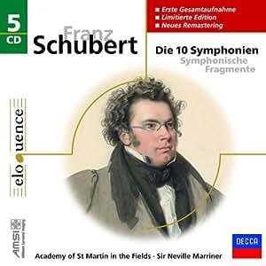 Schubert:die 10 Sinfonien