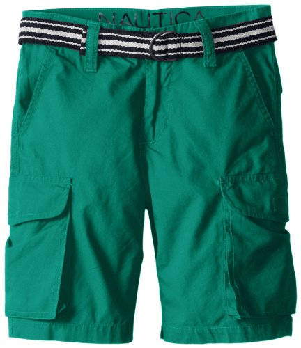 Nautica Boys Belted Cargo Short