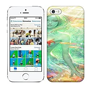 Best Power(Tm) HD Colorful Painted Watercolor Sexy And Colorful Mermaid Art Hard For SamSung Galaxy S5 Mini Phone Case Cover