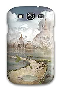 8144044K86614178 Cute Appearance Cover/tpu Edge Of World Case For Galaxy S3