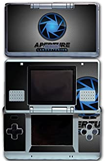 Portal 1 2 Gun Chell Gladdos Wheatley Aperture Laboratories Video Game Vinyl Decal Skin Sticker Cover for Original Nintendo DS System