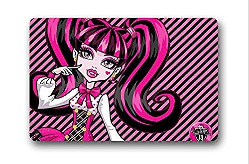 New Design Custom Doormats Bedroom Coussin Monster High Anime Carpets Bathroom Cartoon Rugs #DM-258 (Monster High Customs)