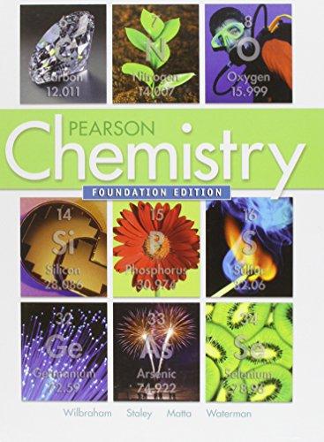 CHEMISTRY 2012 FOUNDATION STUDENT EDITION (HARDCOVER) GRADE 9/11