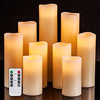 flameless candles with remote Amazon.com: Homemory Realistic Flameless Candle with Remote  flameless candles with remote