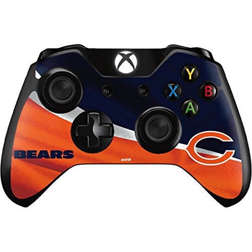Skinit NFL Chicago Bears Xbox One Controller Skin - Chicago Bears Design - Ultra Thin, Lightweight Vinyl Decal Protection by Skinit