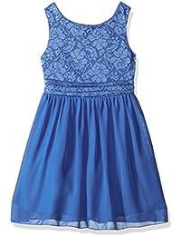 Girls' Glitter Dot Comberband Waist Dress