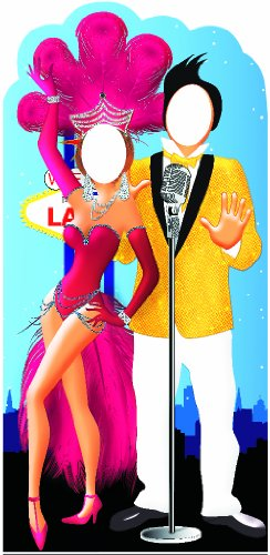 Vegas Couple Stand-In Cardboard Cutout by IncredibleGifts