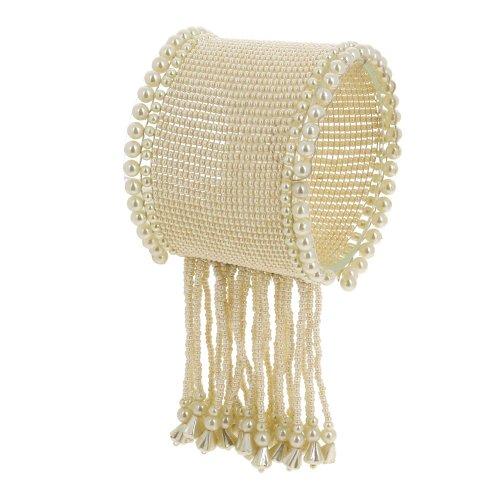 [Wristband Handmade Beaded Wrist Bracelet Fashion Jewelry Costume Indian] (Indian Beaded Bracelet)