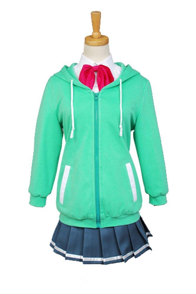 Kuroko's Basketball Momoi Satsuki Uniform Cosplay Kostüm Damen M