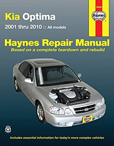 kia optima 2001 2010 repair manual haynes repair manual haynes rh amazon com 2012 kia optima hybrid service manual 2012 kia optima service manual
