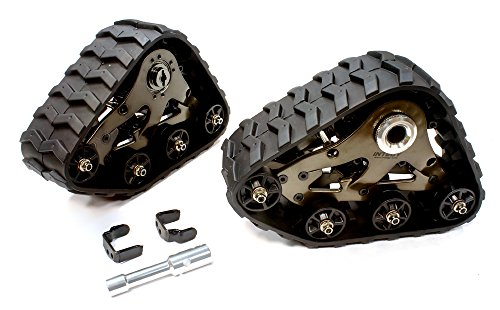 Integy RC Model Hop-ups T8633GREY Rear Snowmobile & Sandmobile Conversion for Traxxas 1/10 Stampede 4X4, Slash 4X4