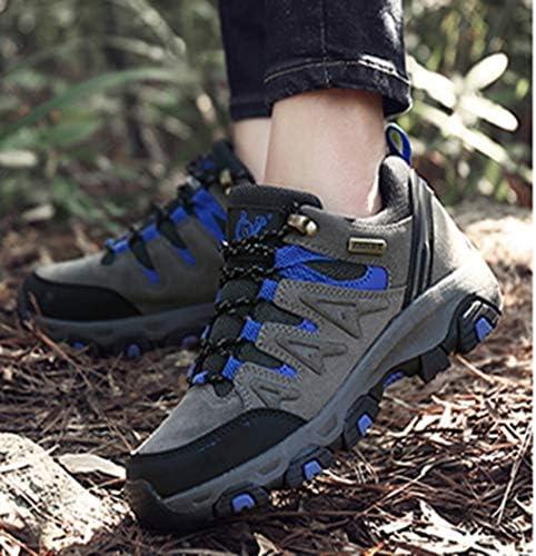 トレッキングシューズ メンズ ローカット 軽量 ハイキングシューズ 厚い底 防滑 登山靴 耐摩耗性 アウトドア ウォーキングシューズ グリーン ブラウン グレー 23.0CM-27.5CM 作業靴 安全靴 運動靴