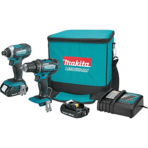 Makita CT225R 18V Compact XCS01Z Lithium-Ion Cordless Combo Kit