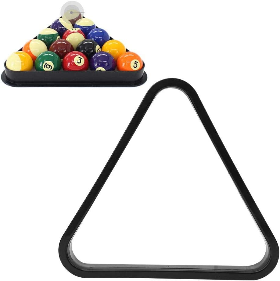 2 Piezas de plástico Profesional Billar Marco Triangular Bolas de ...