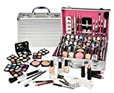 64 PIECE MAKEUP VANITY CASE COSMETIC SET MAKE UP BEAUTY STORAGE URBAN BEAUTY