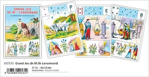 Cartomanzia Grande Lenormand, Grand jeu de mlle Lenormand ...