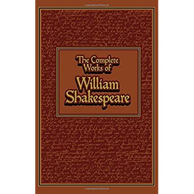 Complete Works of William Shakespeare (Leather-bound Classics)