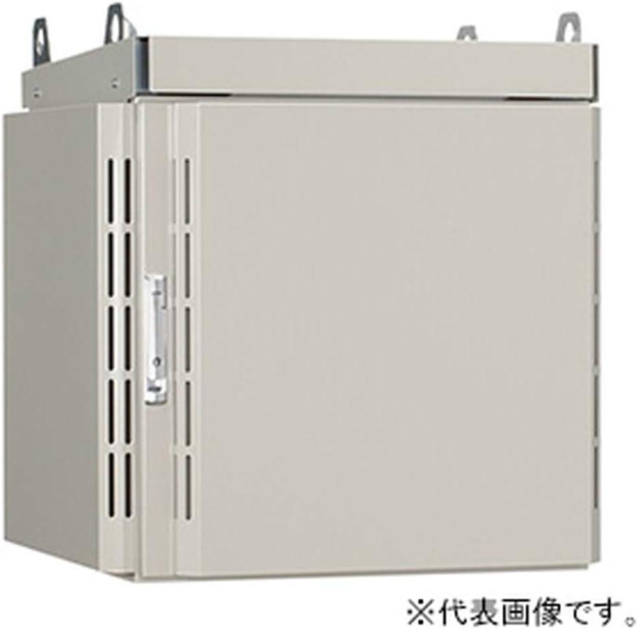 日東工業 屋外用熱対策通信キャビネット 《冷キャビ》 ポール用 19インチヨコ置タイプ 15U 搭載可能熱量120W 熱交換器仕様 RCP60-68Y-H10N