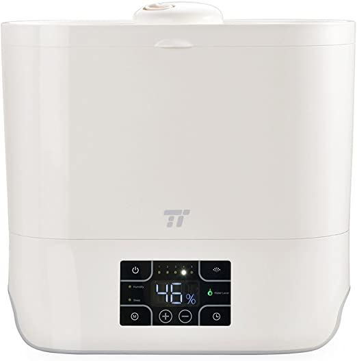 Wide Openi Top Fill Ultrasonic Humidifier Cool Mist Humidifiers for Large Room