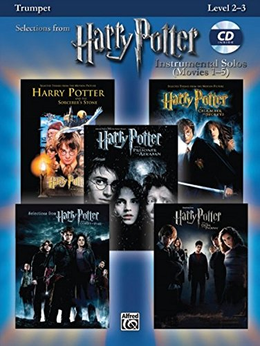 Harry Potter Instrumental Solos (Movies 1-5): Trumpet, Book & CD (Pop Instrumental Solos Series)