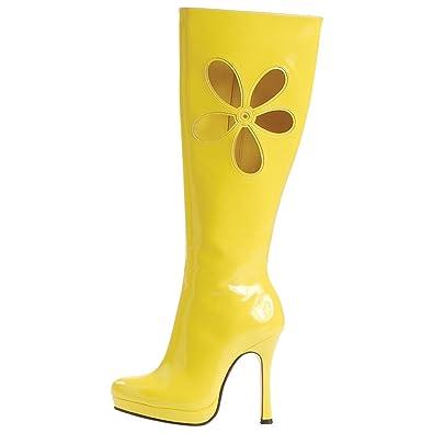 Leg Avenue Botas Amarillas Mujer - Talla 38.5: Amazon.es: Bebé